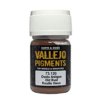 Vallejo Pigment 73120 Old Rust 30ml