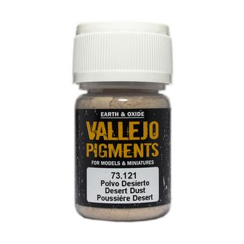 Vallejo Pigment 73121 Desert Dust 30ml