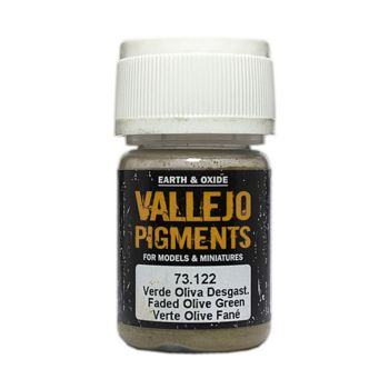 Vallejo Pigment 73122 Faded Olive Green 30ml