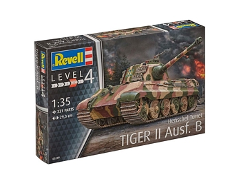 Revell 1/35 Scale - Tiger II Ausf.B Henschel Turret