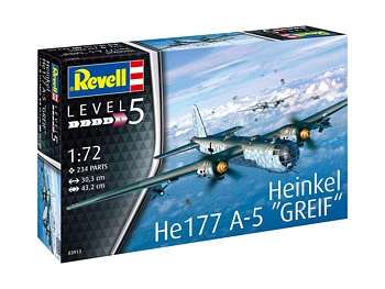 Revell 1/72 Scale - Heinkel He177 A-5 Greif