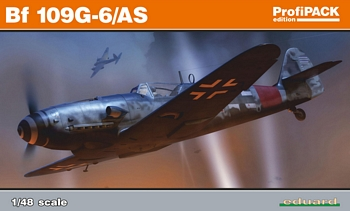 Eduard 1/48 Scale - BF109G-6/AS Profipack Edition