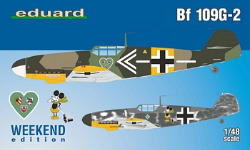 Eduard 1/48 Scale - Bf109G-2 Weekend Edition