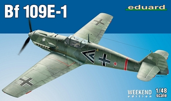 Eduard 1/48 Scale - BF109E-1 Weekend Edition