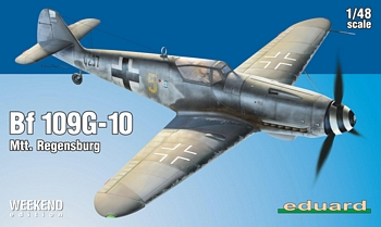 Eduard 1/48 Scale - BF109G-10 Mtt. Regensburg Weekend Edition