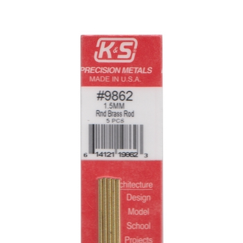 K /& S Precision Metals 8107 9//32x12 ALU Tube