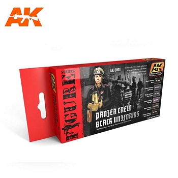 AK Interactive Panzer Crew Black Uniforms