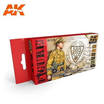 AK Interactive DAK Soldier Uniform Colors