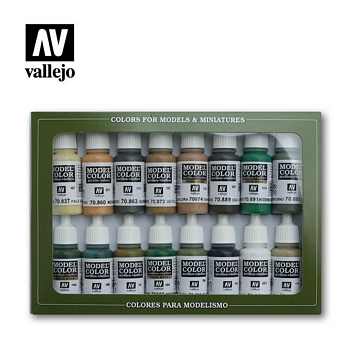 Model Color WWII Allied Colors Paint Set
