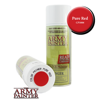 Colour Primer – Pure Red
