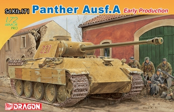 Dragon 1/72 Scale - Panther Ausf.A Early Production