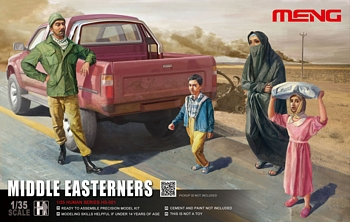 Meng 1/35 Scale - Middle Easterners