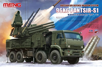 Meng 1/35 Scale - Russian Air Defence Weapon System 96K6 PANTSIR