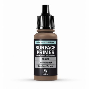 Vallejo Surface Primer  – 70626 Leather Brown