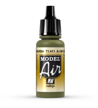 411 A-19F Grass Green - Model Air