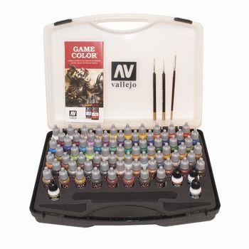 Vallejo Game Color 72 Color Box Set Cottage Craft