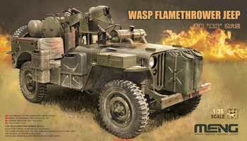Meng 1/35 Scale - MB Military Vehicle Wasp Flamethrower Jeep