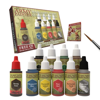 Army Painter Wargamers Hobby Starter Paint Set Paint Set