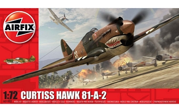 Airfix 1/72 Scale - Curtiss Hawk 81-A-2