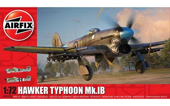 Airfix 1/72 Scale - Hawker Typhoon Mk.IB