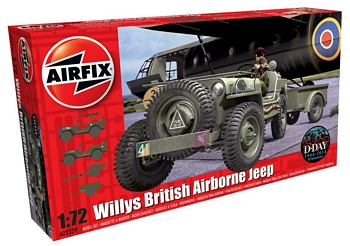 Airfix 1/72 Scale - Willys MB Jeep