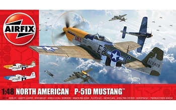 Airfix 1/48 Scale - North American P-51D Mustang