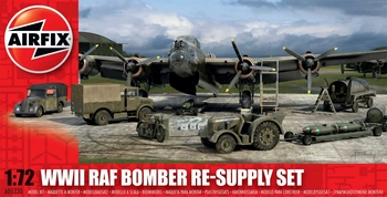 Airfix 1/72 Scale - WWII RAF Bomber Re-Supply Set