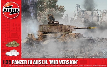 Airfix 1/35 Scale - Panzer IV Ausf.H Mid Version