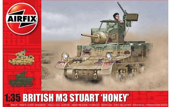 "Airfix 1/35 Scale - British M3 Stuart ""Honey"""