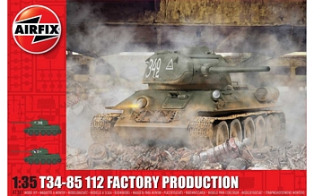 Airfix 1/35 Scale - T34-85 112 Factory Production