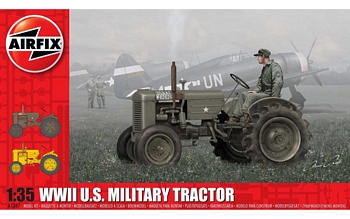 Airfix 1/35 Scale - WWII US Military Tractor