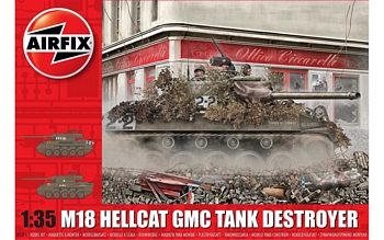 Airfix 1/35 Scale - M18 Hellcat GMC Tank Destroyer