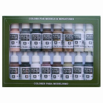 Model Color Equestrian Colors Paint Set