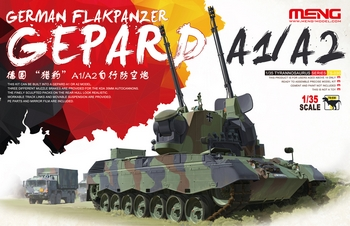 Meng 1/35 Scale - German Flakpanzer Gepard A1/A2