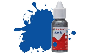 Humbrol Acrylic - No14 French Blue - Gloss
