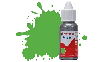 Humbrol Acrylic - No37 Bright Green - Matt