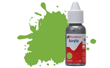 Humbrol Acrylic - No38 Lime - Gloss