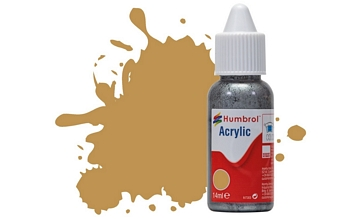 Humbrol Acrylic - No93 Desert Yellow - Matt
