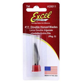Excel #11 Double Honed Replacement Blades 5 Pack