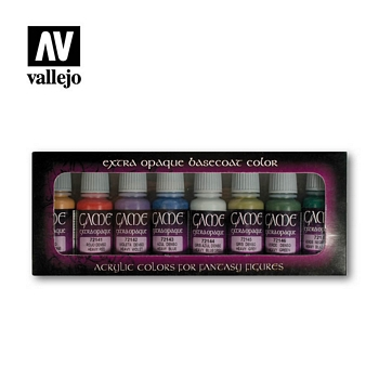 Game Color Extra Opaque Paint Set