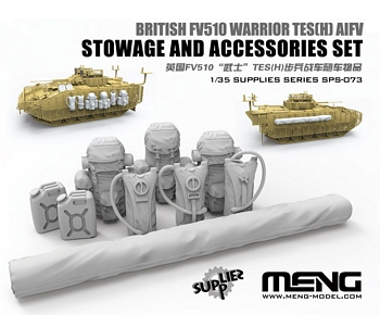 Meng 1/35 Scale - British Warrior TES(H) Stowage & Accessories