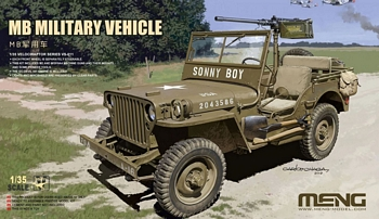 Meng 1/35 Scale - MB Willys Jeep Military Vehicle