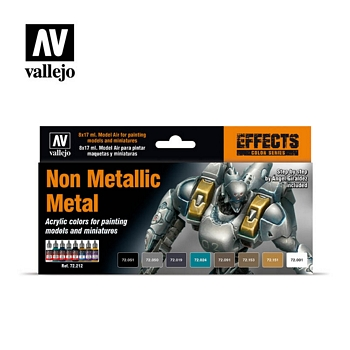Game Color Non Metallic Metal Paint Set