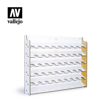 Vallejo Paint Stand Wall Mounted Display 17ml