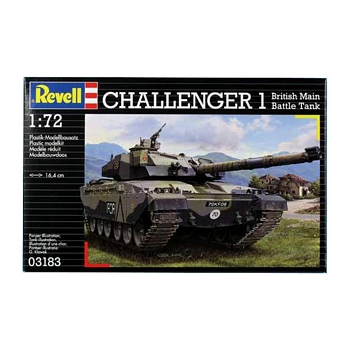 Revell 1/72 Scale - Challenger 1 MBT