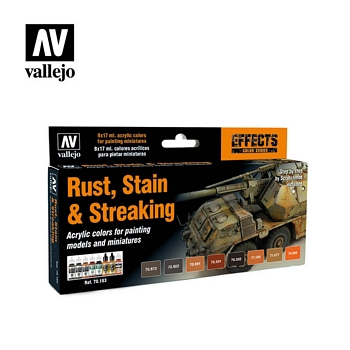 Vallejo Rust, Stain & Streaking