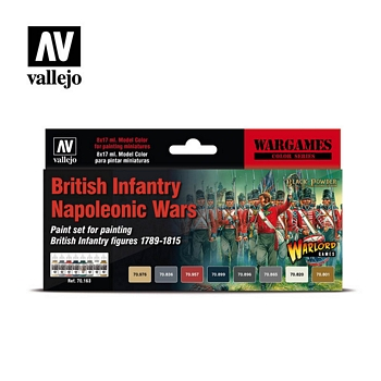 Model Color British Infantry Napoleonic Wars