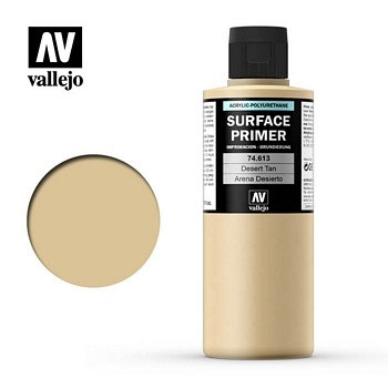 Vallejo Surface Primer – 74613 Desert Tan 200ml