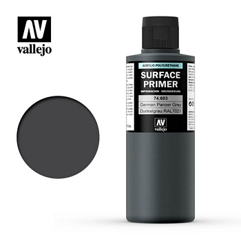 Vallejo Surface Primer – 74603 German Panzer Grey 200ml