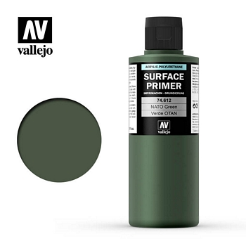 Vallejo Surface Primer – 74612 NATO Green 200ml
